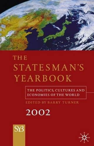 9780333945735: The Statesman's Yearbook 2002: The Politics, Cultures, and Economies of the World