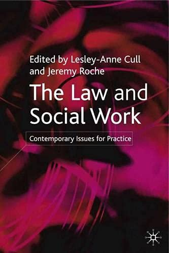 9780333945872: The Law and Social Work: Contemporary Issues for Practice
