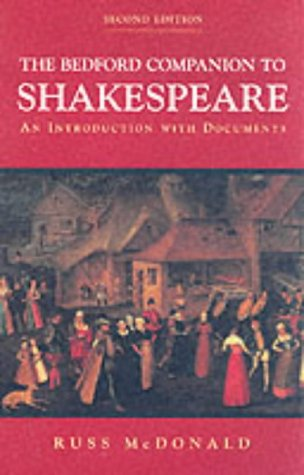 9780333947111: The Bedford Companion to Shakespeare: An Introduction with Documents