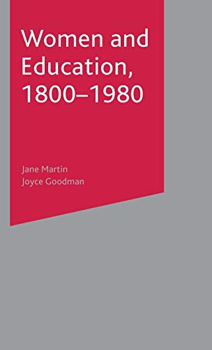 9780333947210: Women and Education, 1800-1980