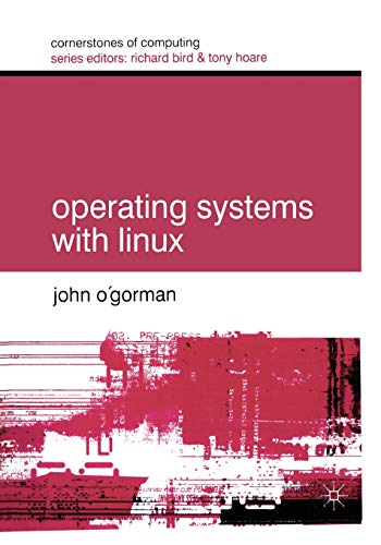 9780333947456: Operating Systems with Linux (Cornerstones of Computing)