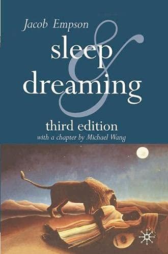9780333947647: Sleep and Dreaming