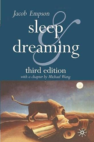 9780333947647: Sleep and Dreaming: Third Edition
