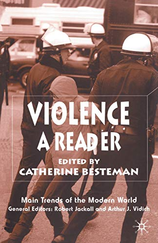 9780333947760: Violence: A Reader (Main Trends of the Modern World)