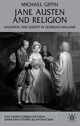 9780333948088: Jane Austen and Religion: Salvation and Society in Georgian England