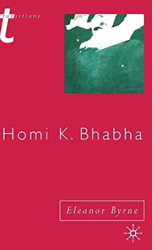 9780333948477: Homi K. Bhabha (Transitions)