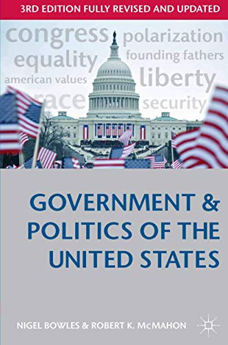 9780333948613: Government and Politics of the United States (Comparative Government and Politics)