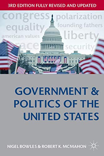 9780333948620: Government and Politics of the United States (Comparative Government and Politics)