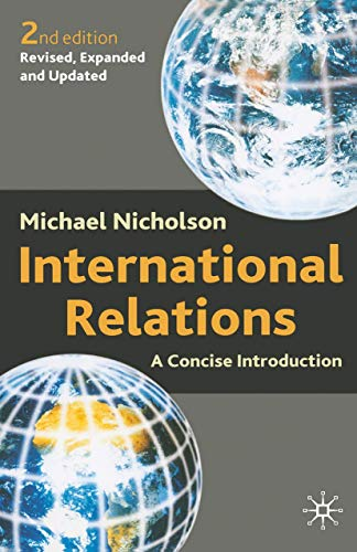9780333948712: International Relations: A Concise Introduction
