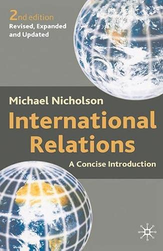 9780333948729: International Relations: A Concise Introduction