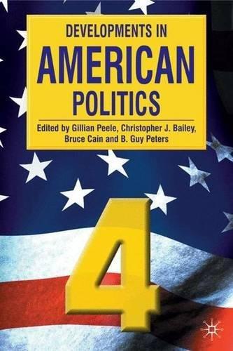 9780333948736: Developments in American Politics