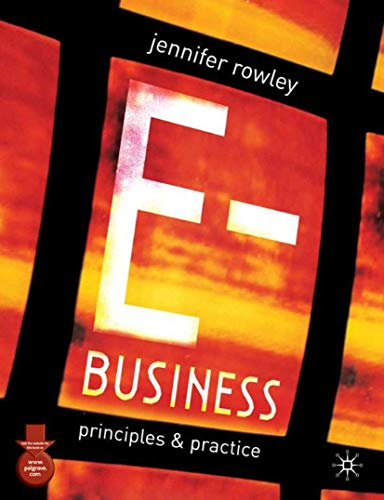 9780333949146: E-Business: Principles and Practice