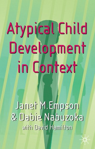 9780333949351: Atypical Child Development in Context
