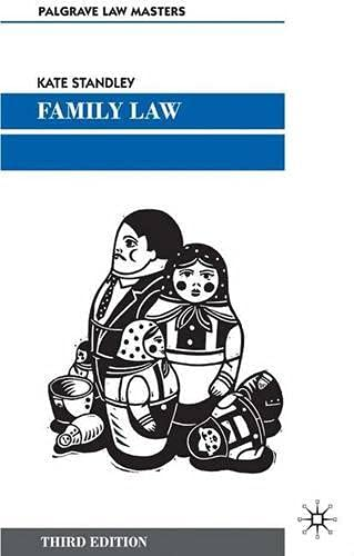 Family Law: Standley, Kate