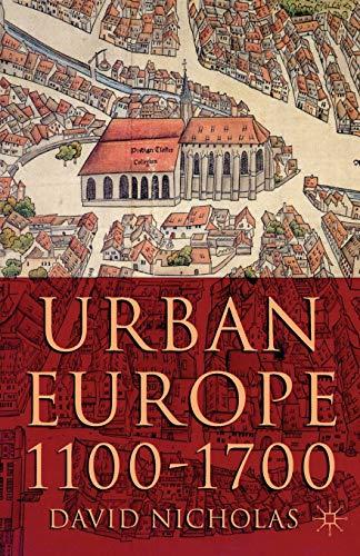 9780333949832: Urban Europe 1100-1700