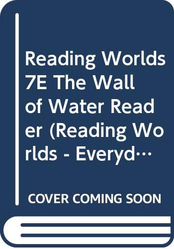 9780333955499: Wall of Water (Reading Worlds - Everyday World - Level 7)