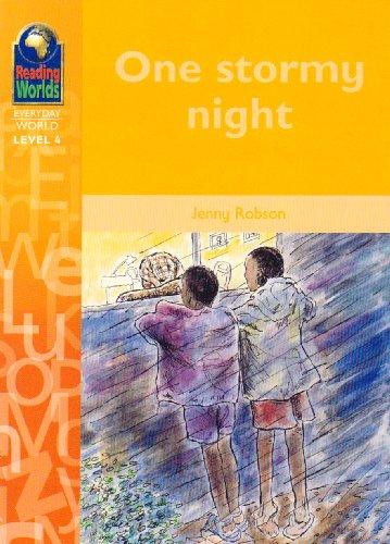 9780333955567: One Stormy Night (Reading Worlds - Everyday World - Level 4)