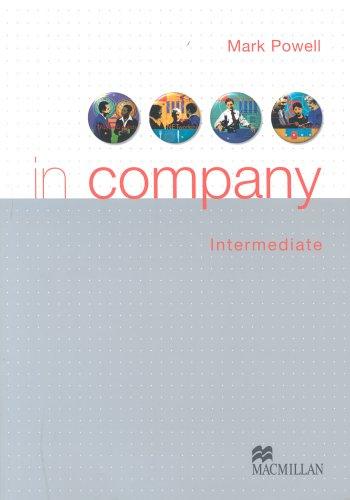 9780333957325: In Company Intermediate: Student's Book