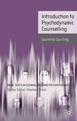 9780333960219: An Introduction to Psychodynamic Counselling (Basic Texts in Counselling and Psychotherapy)