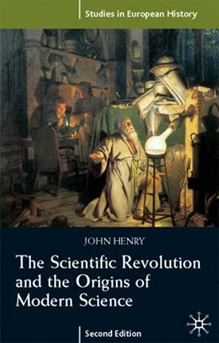 9780333960905: The Scientific Revolution and the Origins of Modern Science (Studies in European History)
