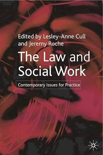 9780333961261: The Law and Social Work: Contemporary Issues for Practice