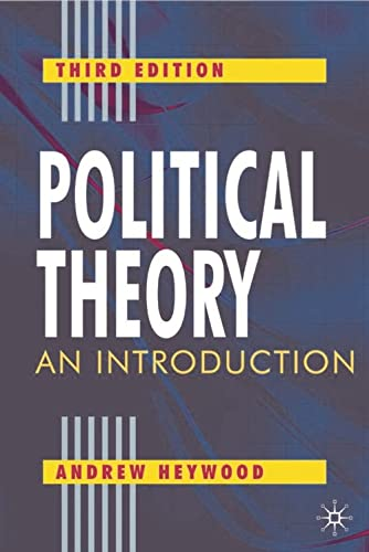 9780333961803: Political Theory, Third Edition: An Introduction