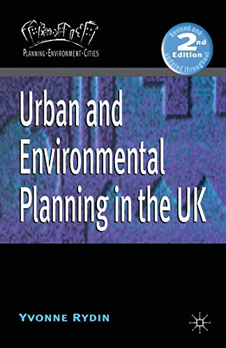 9780333961988: Urban and Environmental Planning in the UK (Planning, Environment, Cities)