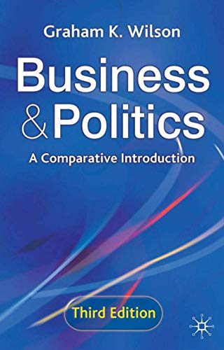 9780333962053: Business and Politics