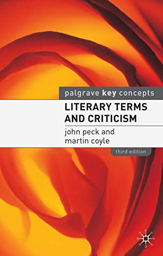 9780333962589: Literary Terms and Criticism