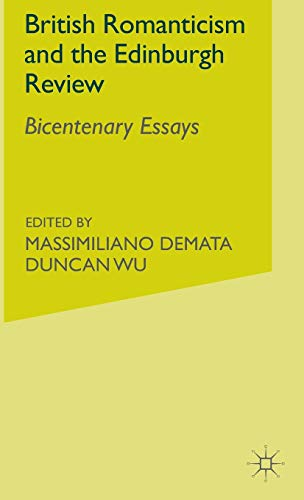 9780333963494: British Romanticism and the Edinburgh Review: Bicentenary Essays