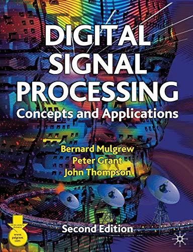 9780333963562: Digital Signal Processing