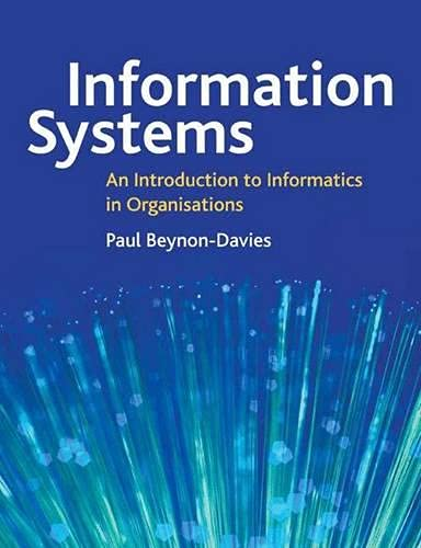 9780333963906: Information Systems an Introduction to Informatics in Organizations