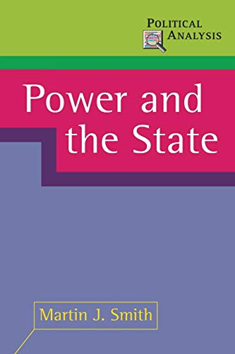 9780333964637: Power and the State (Political Analysis)