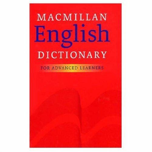 9780333964811: Macmillan English Dictionary: For Advanced Learners: UK Edition: For Advanced Learners