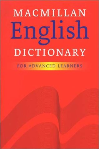 9780333964828: Macmillan English Dictionary for Advanced Learners