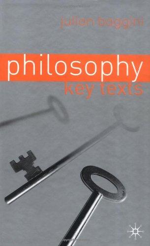 9780333964842: Philosophy: Key Texts