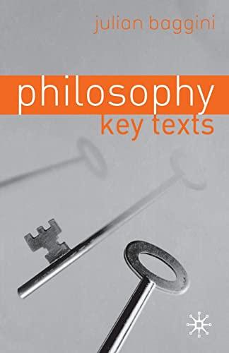 9780333964859: Philosophy: Key Texts
