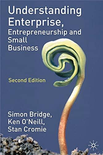 9780333964996: Understanding Enterprise, Entrepreneurship and Small Business