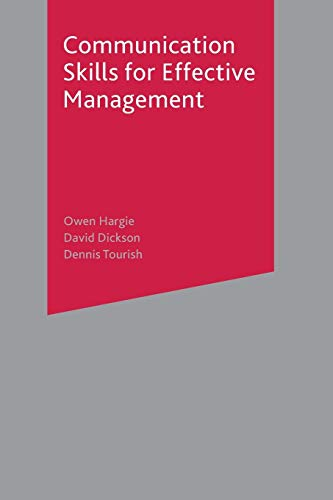 9780333965757: Communication Skills for Effective Management