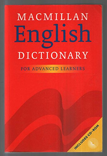 9780333966686: English Dictionary Advanced Pb & Cdrom