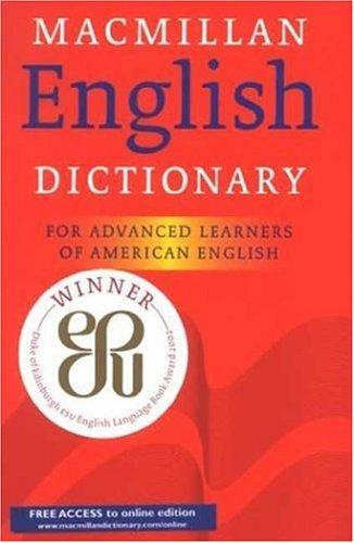 9780333966709: Macmillan English Dictionary: For Advanced Learners of American English