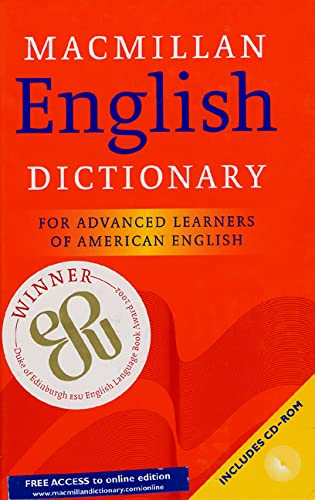 9780333966716: Macmillan English Dictionary: For Advanced Learners of American English; includes CD-ROM