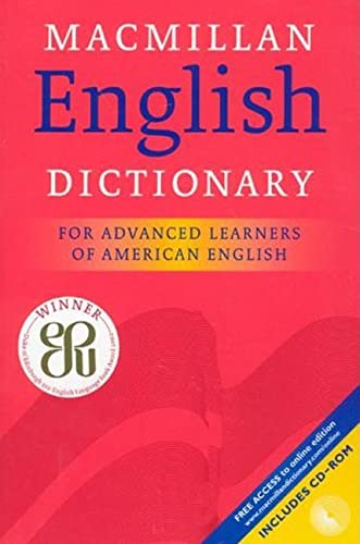 9780333966723: Macmillan English Dictionary: For Advanced Learners of American English; includes CD-ROM