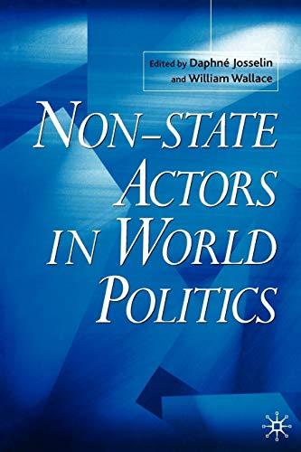 9780333968147: Non-State Actors in World Politics