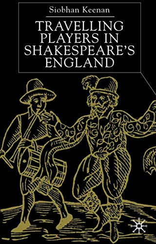 9780333968208: Travelling Players in Shakespeare's England