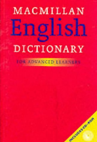 9780333968475: Macmillan English Dictionary: For Advanced Learners