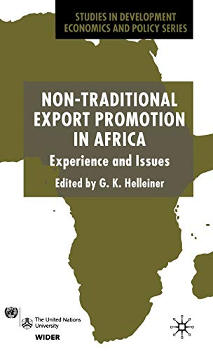 9780333968918: Non-Traditional Export Promotion In Africa: Experience and Issues