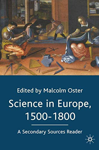 9780333970058: Science in Europe, 1500-1800: A Secondary Sources Reader