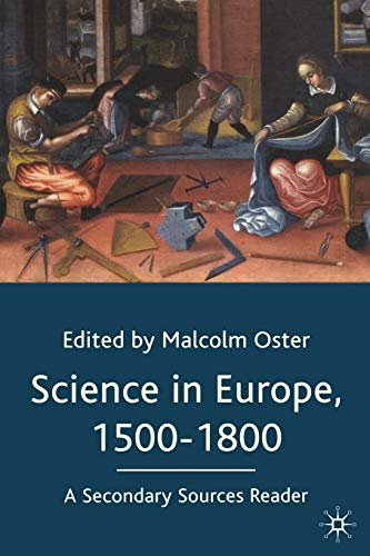 9780333970065: Science in Europe, 1500-1800: A Secondary Sources Reader