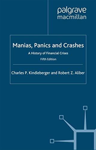 9780333970294: Manias, Panics and Crashes
